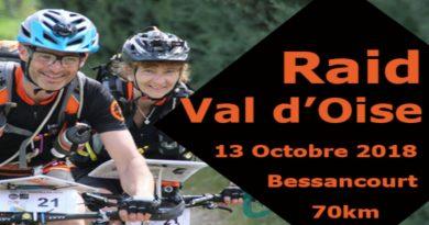 Affiche du Raid Val d'Oise