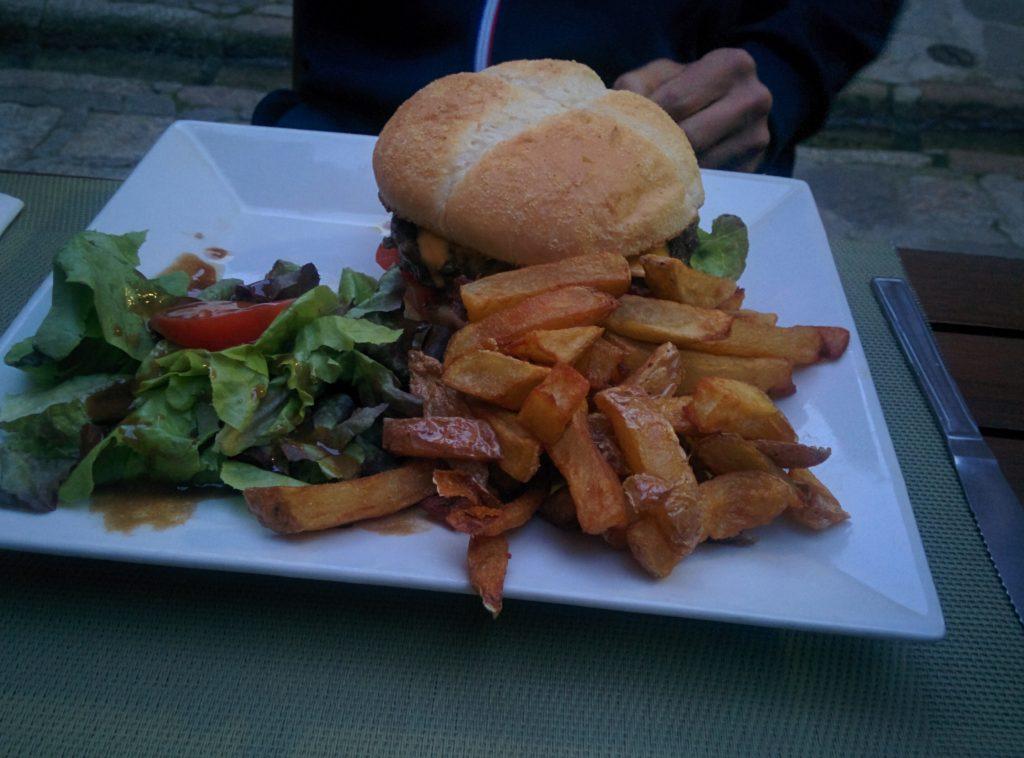 Photo repas burger