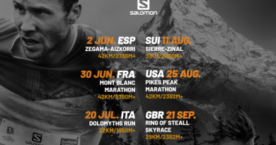 Affiche de la Golden Trail World Series 2019